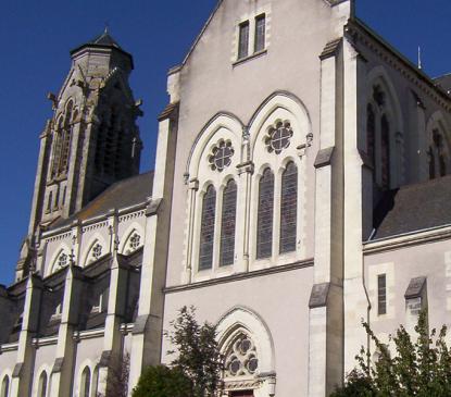 Eglise Notre Dame néogothique (XIXème)