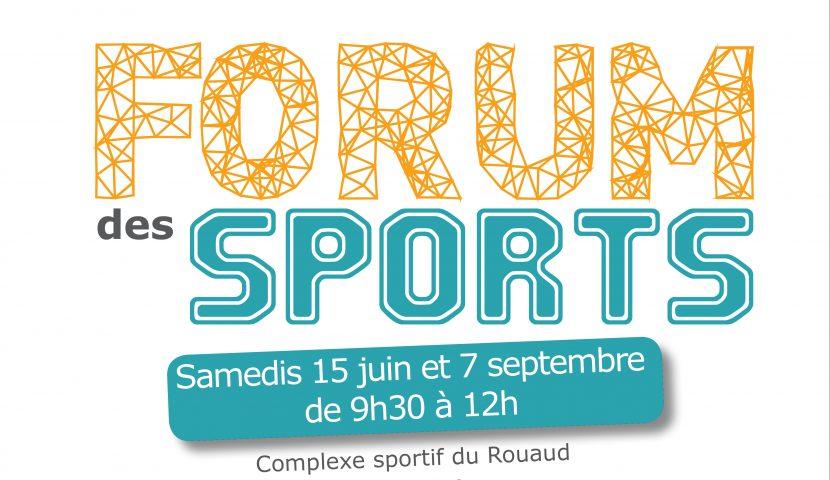 Forum des sports OMS 7 sept