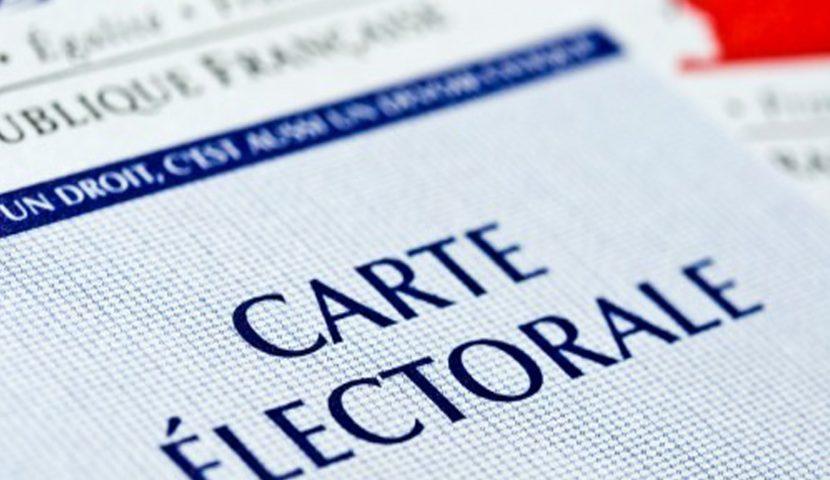 Nouvelle carte électorale dans votre boîte aux lettres