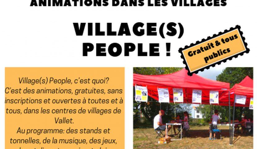 Village(s) People en juillet