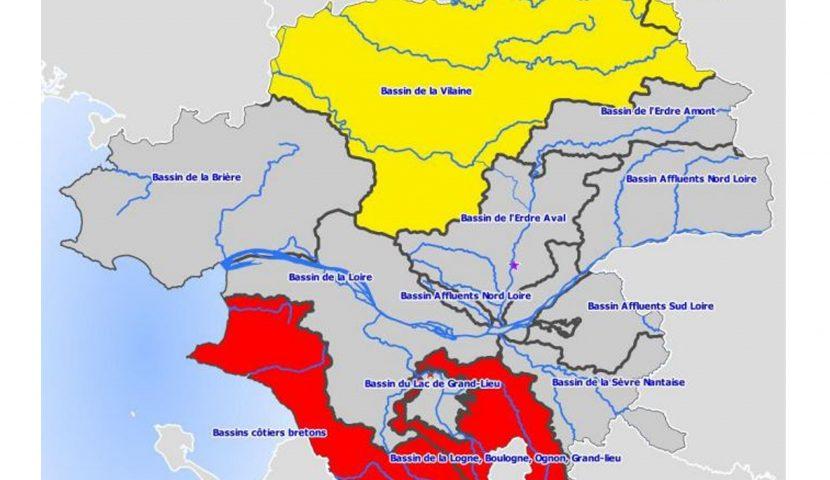 Prélèvements d'eau : restriction en Loire-Atlantique