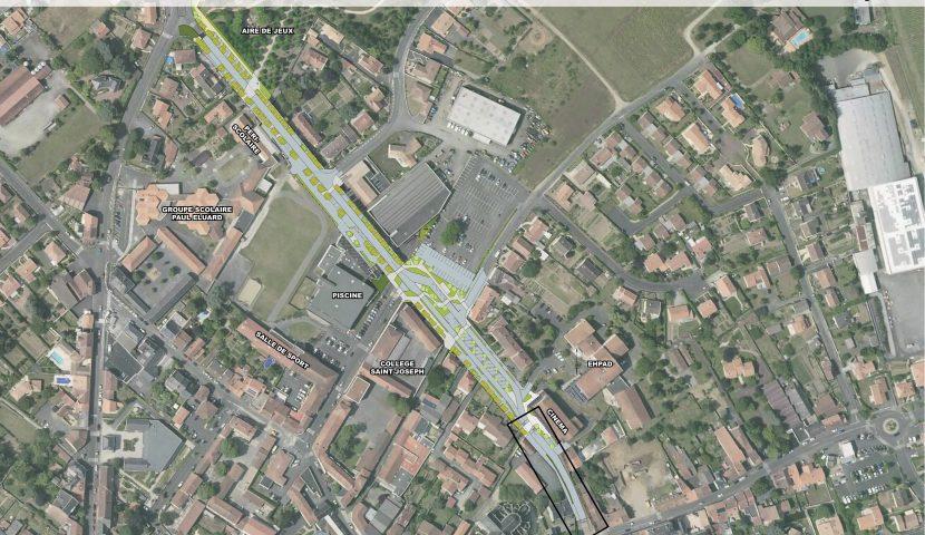 Le boulevard Evariste Dejoie