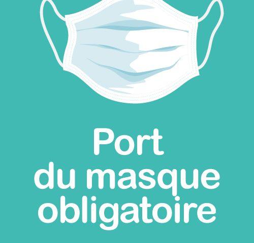 COVID : port du masque et rassemblements